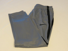 Mens Nike XL xlarge sport training 800183 grey black 065 pants active Epic Knit - $42.31