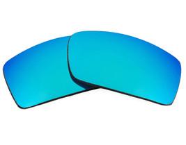 Lentes de Repuesto para Oakley Gascan Gafas de Sol Antirasguños Azul Espejo - $16.06