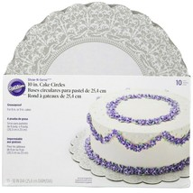 Wilton Show-N-Serve 10 in. Cake Circles - Set of 10