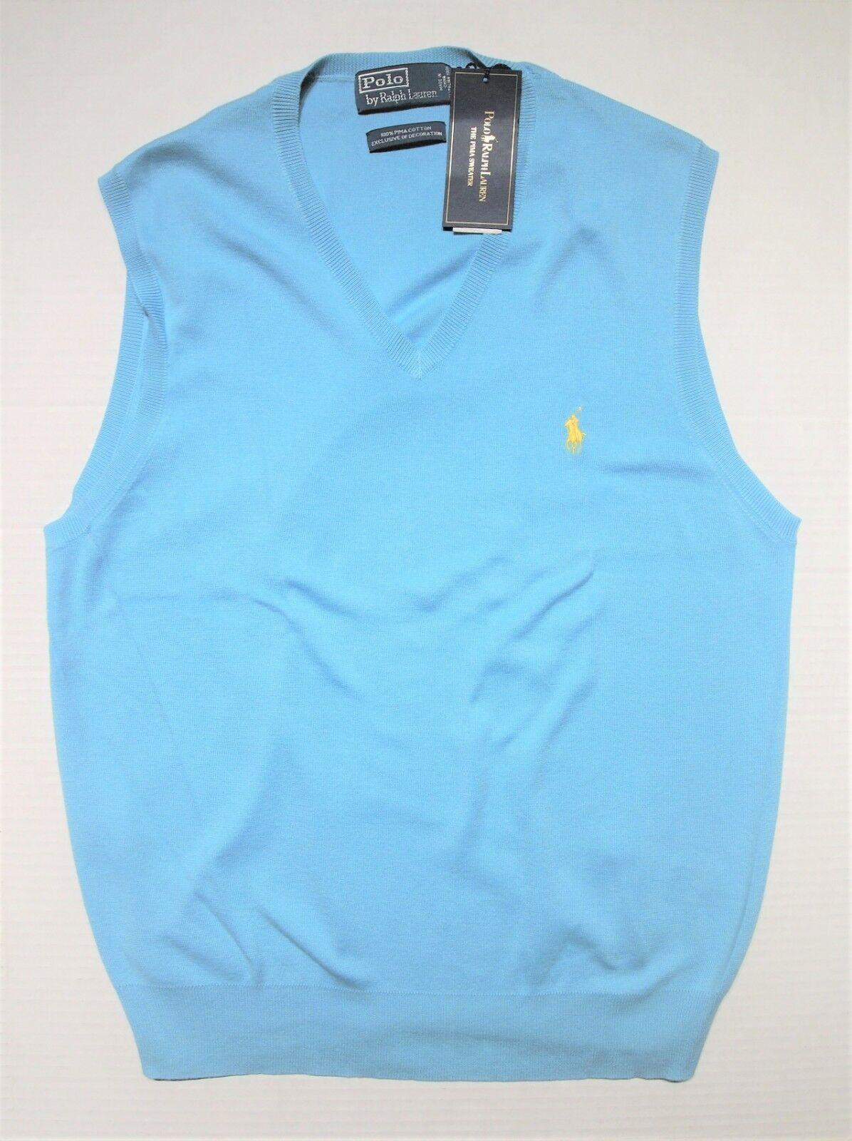 Polo Ralph Lauren mens pullover sweater vest size large image 4