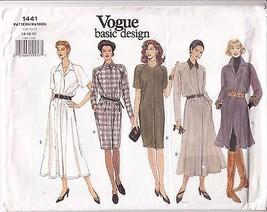 Dress Loose Fit Flared Straight Variations Vogu... - $12.86
