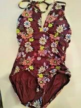 Anne Cole Multi Color One Piece Swimwear Size 8 image 1
