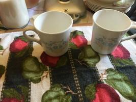 Corelle Corning Country Cornflower Cups X 2 - $9.99