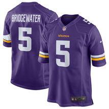 Teddy Bridgewater 2017 Minnesota Vikings Purple Game Men Jersey - $59.99