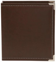 Simple Stories Faux Leather Binder, 6 by 8-Inch, Brown - $22.02