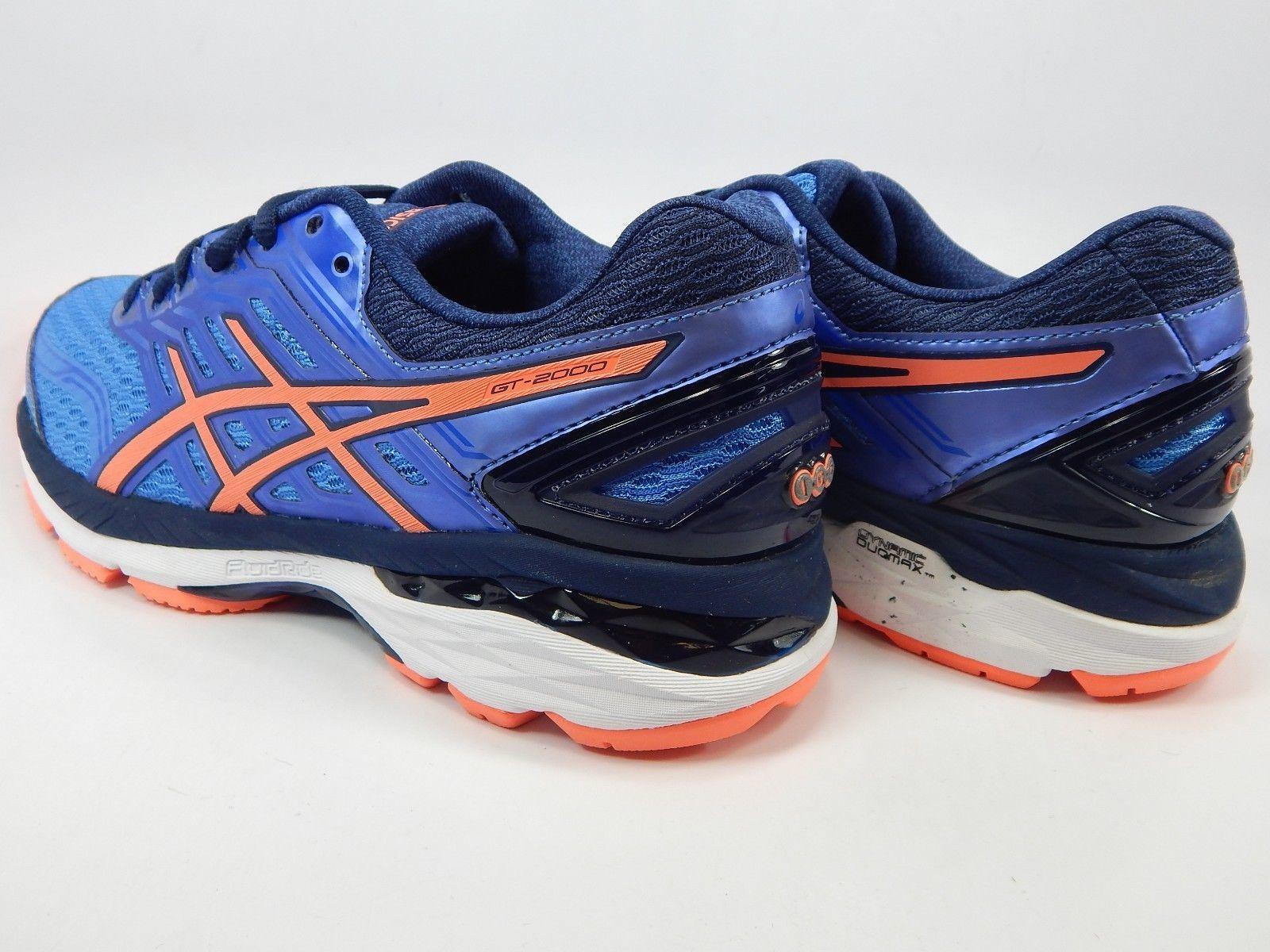 Asics GT 2000 v 5 Size US 7 M (B) EU 38 Women's Running Shoes Blue Pink T757N