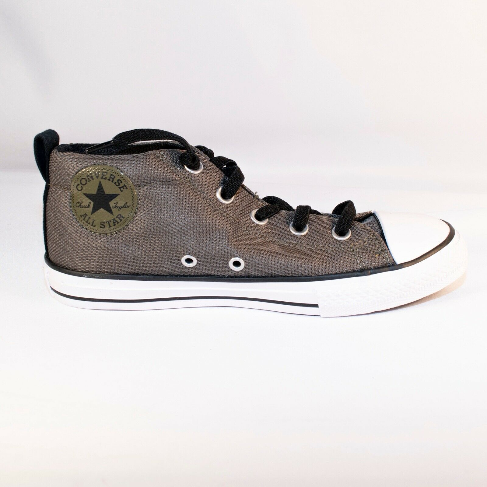 Converse Size 4 Juniors Chuck Taylor CTAS Street MID 658649F Olive Green Shoes