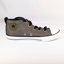 Converse Size 4 Juniors Chuck Taylor CTAS Street MID 658649F Olive Green... - $29.47