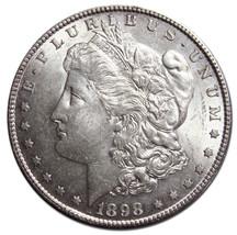 1898S MORGAN SILVER ONE DOLLAR Coin Lot # MZ 3051