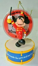 QXD4075 Hallmark Ornament 50 YEARS OF MUSIC AND FUN Disney 2005 MICKEY M... - $39.59