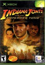 XBOX - Indiana Jones and the Emperor's Tomb - $11.75