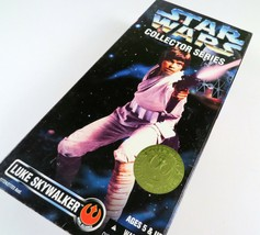 "Kenner Star Wars LUKE SKYWALKER Collector Series 1997 12"" Inch Action Figure New - $18.80"