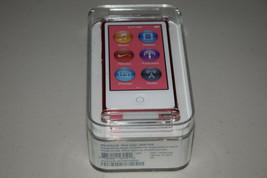 Apple iPod Nano 7th Generation 16GB Pink MD475LL/A AAC MP3 Media Player w FM New - $285.00