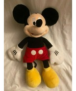 "DISNEY Classic MICKEY MOUSE Plush Stuffed Animal ***EXCELLENT*** 17""H x ... - $29.95"