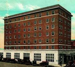 Hotel Simpson Denison Texas TX 1931 Vtg Postcard Curt Teich - $3.95