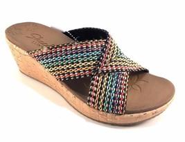 129da3b82931 Skechers 38554 Multi Luxe Foam Wedge Platform Slip On Sandals Size 10 -  £29.62 GBP · Add to cart · View similar items