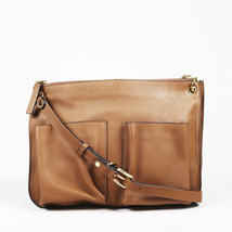 Marni Brown Leather Crossbody Bandoleer Bag - $480.00
