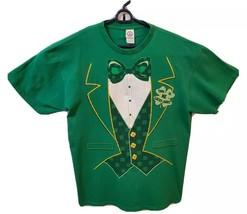 "Men's St. Patrick's Day ""This Is Me Lucky Shirt"" Tuxedo T-shirt Large De... - $8.49"