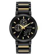 Bulova Men's Analog-Quartz Watch with Stainless-Steel Strap (Model: 98C124) - $295.00