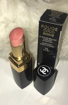 Chanel Rouge Coco Shine Hydrating Sheer Lipshine Lipstick # 85 SECRET - $23.66