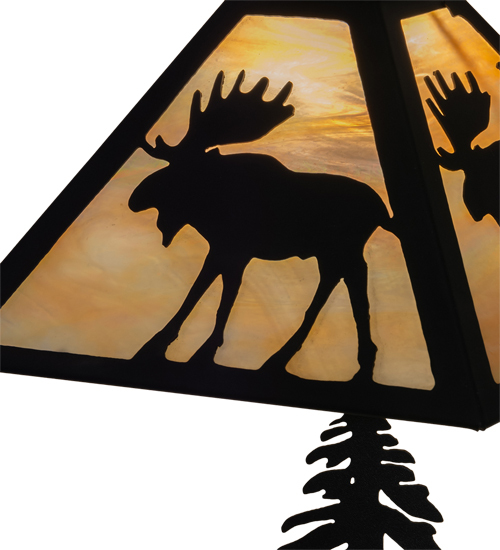 """21"""" High Moose on the Loose Table Lamp"""