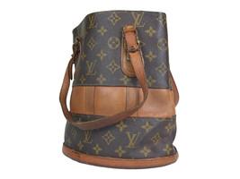 Auth Louis Vuitton Vintage Bucket Monogram Tote Bag, Shoulder Bag LS17693L - $259.00