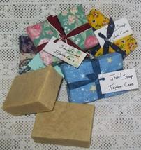 Jewel Soap - Jojoba Care, goat milk, olive oil, unscented, very moisturi... - $5.50