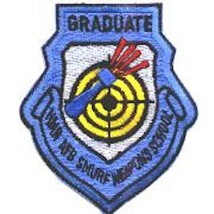 Usaf Air Force 435FS Smurf Wic Graduate Weapons Blue Embroidered Jacket Patch - $18.99
