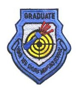 USAF AIR FORCE 435FS SMURF WIC GRADUATE WEAPONS BLUE EMBROIDERED JACKET ... - $18.99