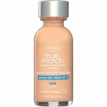 L'oreal True Match Super Blendable Makeup SPF 17 - C5 Classic Beige - $6.69