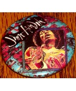 JIMI HENDRIX  BUTTON !      NEW!  ROCK & ROLL! - $24.74