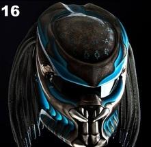 Predator Motorcycle Helmet Blue (Dot / Ece Certified) - $355.00