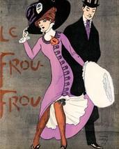 Le Frou Frou: Man Gazes at Girl - Larry - 1909 - $12.95+