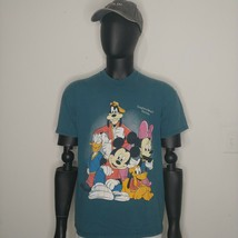 Vintage 90s Disney Characters Graphic Tee Shirt Goofy - $14.85