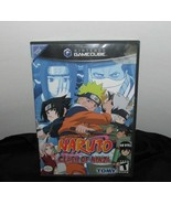 Nintendo gamecube Naruto Clash of Ninja  in case w/ instructions - $6.92