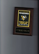 Pittsburgh Penguins Banner Plaque Stanley Cup Champions Champs Hockey Nhl - $3.95