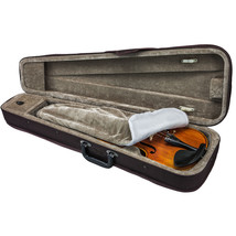 **GREAT GIFT**NEW Lightweight 1/2 Violin Case/Backpack/Music Pocket-CLEA... - $18.99
