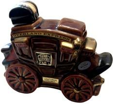 Ezra Brooks Overland Express Stagecoach Porcelain Bottle Decanter 1969 - $35.99