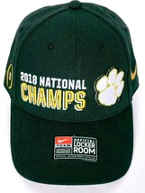 2018 National Champs Clemson Tigers College Football Men's Hat Adjustable - £22.30 GBP