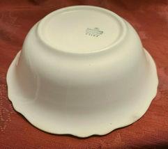 "Vintage RARE 1935 Homer Laughlin ""VIRGINIA ROSE"" 8 1/2"" Bowl Made in USA K 43 N8 image 3"