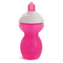 Munchkin Click Lock Flip Straw Cup 296ml Pink - $24.76