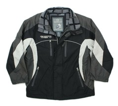 Free Country Extreme Performance Boys Black Fleece Lined Winter Jacket L... - $22.76