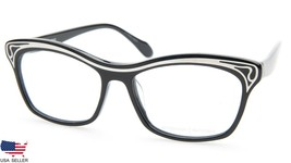 NEW PRODESIGN DENMARK 5631 c.6032 BLACK EYEGLASSES FRAME 52-15-140 B36mm... - $89.09