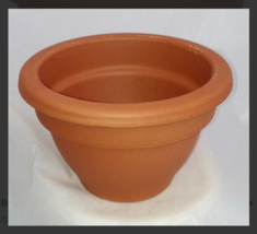 """6"""" Bell Shape Clay Pot - Great for Plants and Crafts - $16.98"""