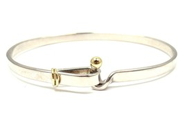 Tiffany & Co Sterling Silver 18k Yellow Gold Ho... - $450.00
