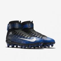 Nike Force Lunarbeast Elite TD Black Blue Mens 13 Football Cleats 779422... - $49.95