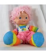 """Vintage 1983 Hallmark Rainbow Baby Brite Doll Pink Hair 16"""" - $22.24"""
