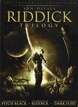 Riddick Trilogy (Pitch Black / Chronicles of Riddick / Dark Fury) DVD