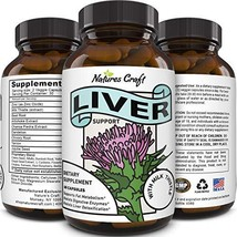 Best Liver Supplements with Milk Thistle - Artichoke - Dandelion Root Support He
