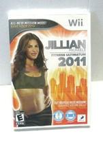 Jillian Michaels Fitness Ultimatum 2011 (Nintendo Wii, 2010) - $8.05